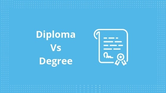 Difference Between Diploma and Degree
