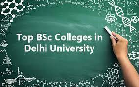 B.Sc colleges in Delhi University.
