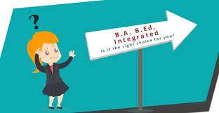 BA B.Ed course detail.