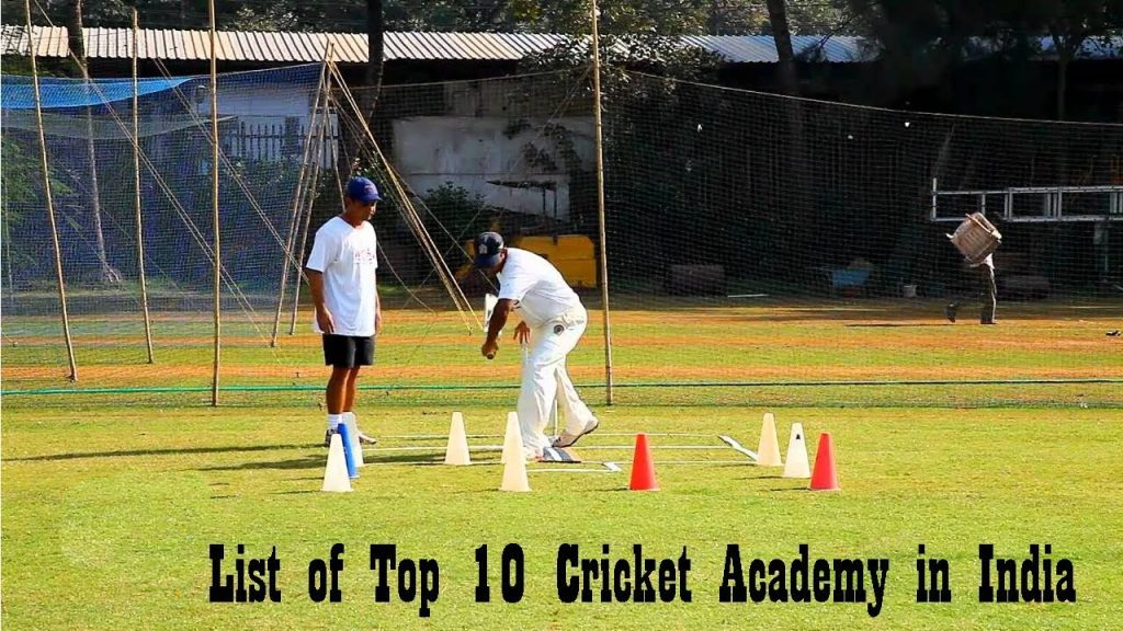 CRICKET ACADEMY IN INDIA