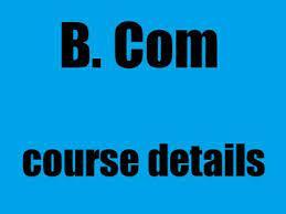 B Com Course Detail