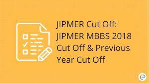 JIPMER Cut Off 2021