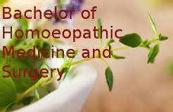 Bachelor of Homeopathic Medicine and Surgery (BHMS)