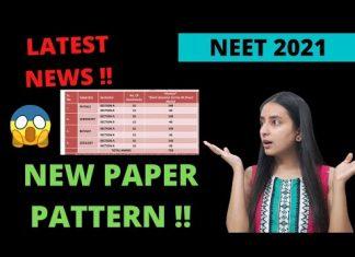 NEET Exam Pattern 2021