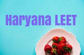 Haryana LEET