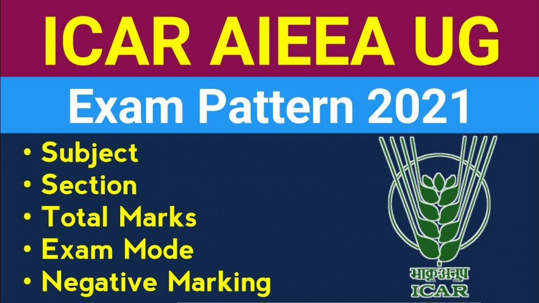 ICAR AIEEA Exam Pattern